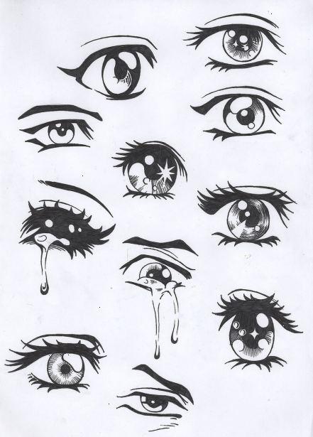 manga øjne