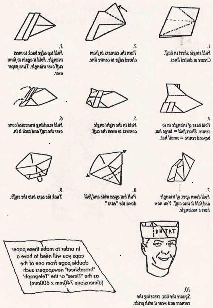 hvordan lager man avis papir